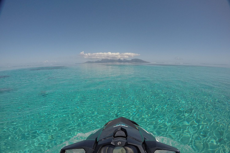 © Tahiti jet ski